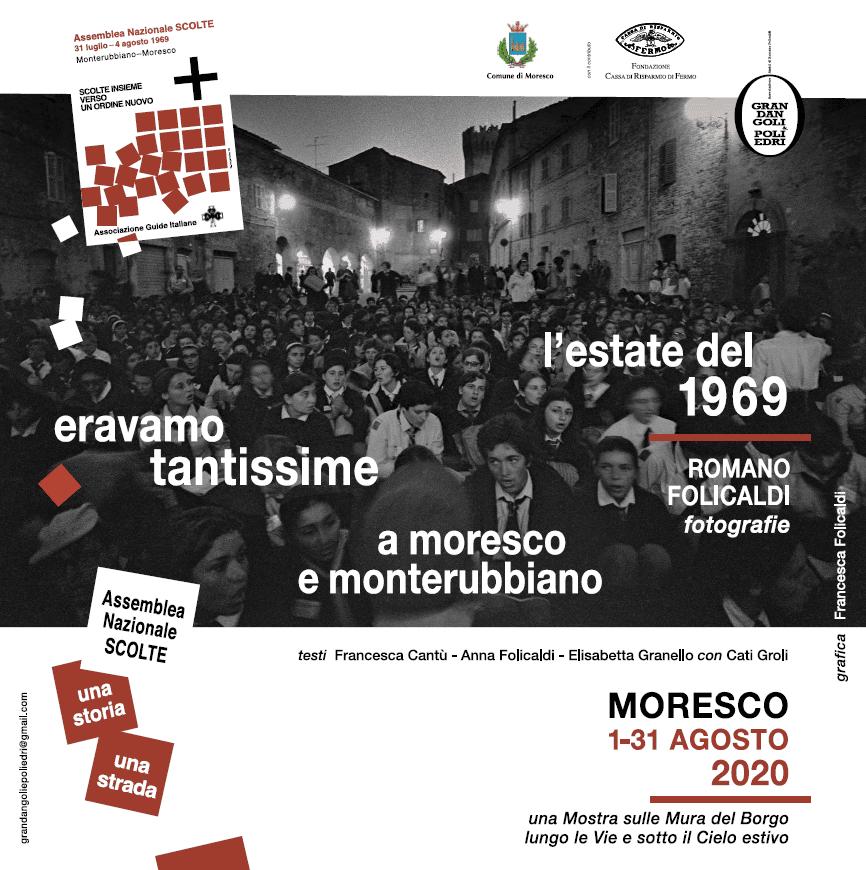 Eravamo tantissime - Mostra fotografica di Romano Folicaldi - Moresco dal 1 al 31 Agosto 2020