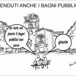 VENDUTI ANCHE I BAGNI PUBBLICI DEL GIRFALCO